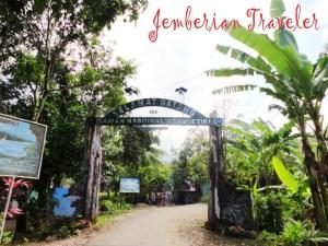 The entrance of Meru Betiri National Park