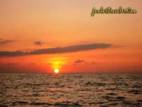 Sunset di Karimun Jawa