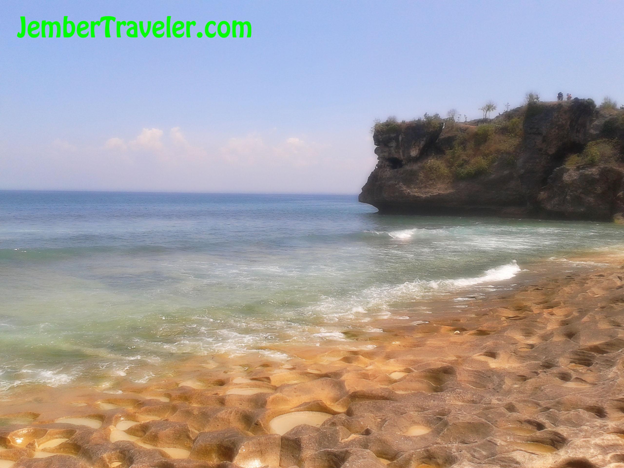 Pantai Balangan Pantai Tersembunyi Di Bali Jember Traveler
