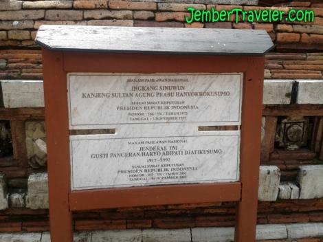 Papan Makam Pahlawan Nasional