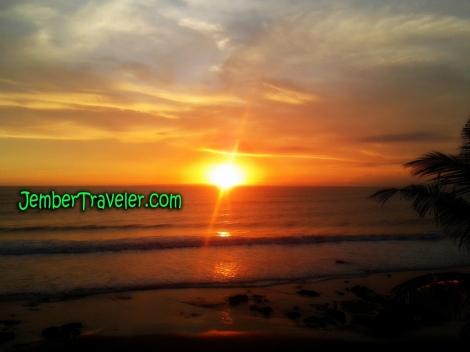 Sunset di Negara