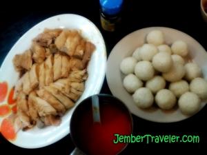 Chicken Rice Ball ala KinMen Restaurant