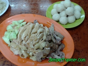 Chicken Rice Ball Hoe Kie