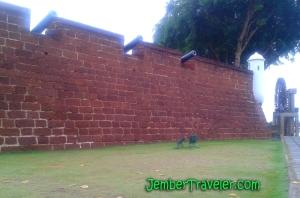 Benteng dari Pelabuhan Melaka