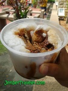 Ice Cream Baba Cendhol Durian