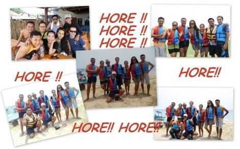 Team Hore di Tanjung Benoa Watersport