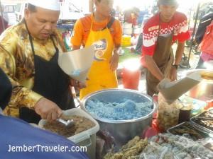 Penjual Nasi Kerabu