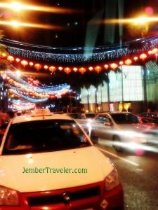 Jalanan di Bukit Bintang