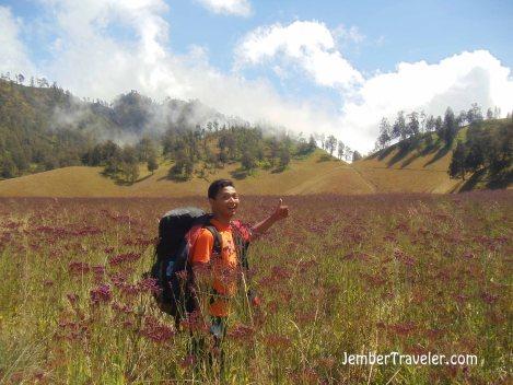 Di tengah padang lavender. Photo by : Daniel Denz