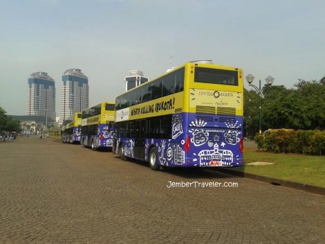 Bus Wisata Keliling Jakarta