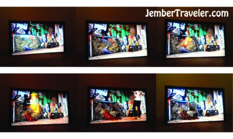 Video Lukisan Meletusnya Gunung Merapi