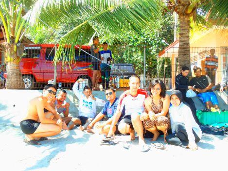 Peserta Pelatihan Diving Rempong