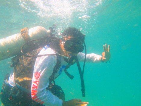 Yuukk kita diving