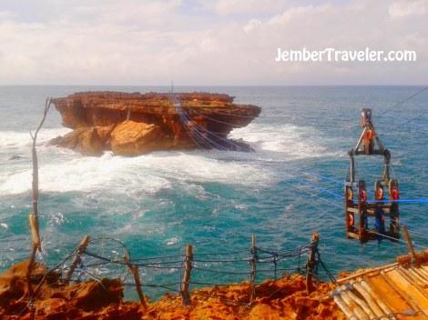 Jember Traveler Pulau Timang 03