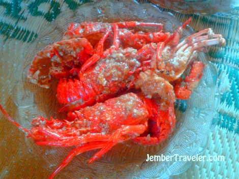Lobster Saus Tiram ala Nelayan Timang