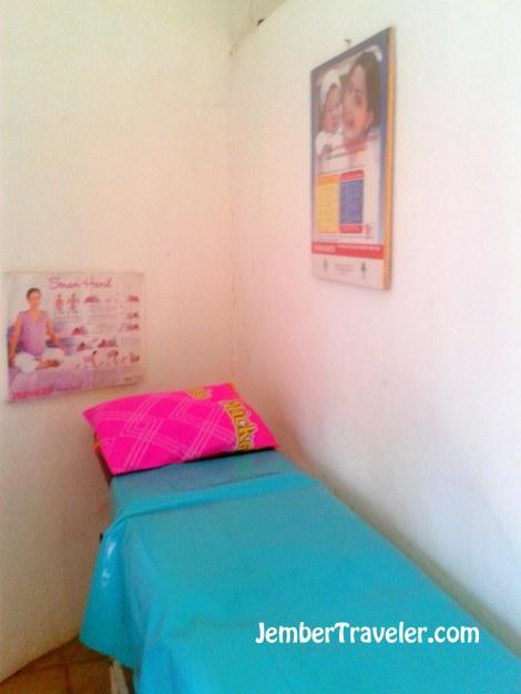 Tempat tidur pasien