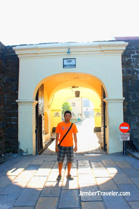 Pintu masuk benteng