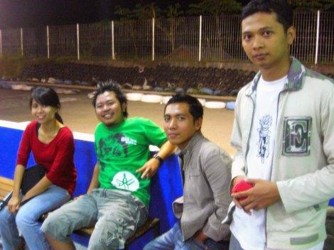 Teman dari kantor cabang Malang