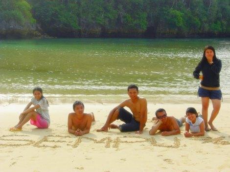 Kami di Segara Anakan Pulau Sempu