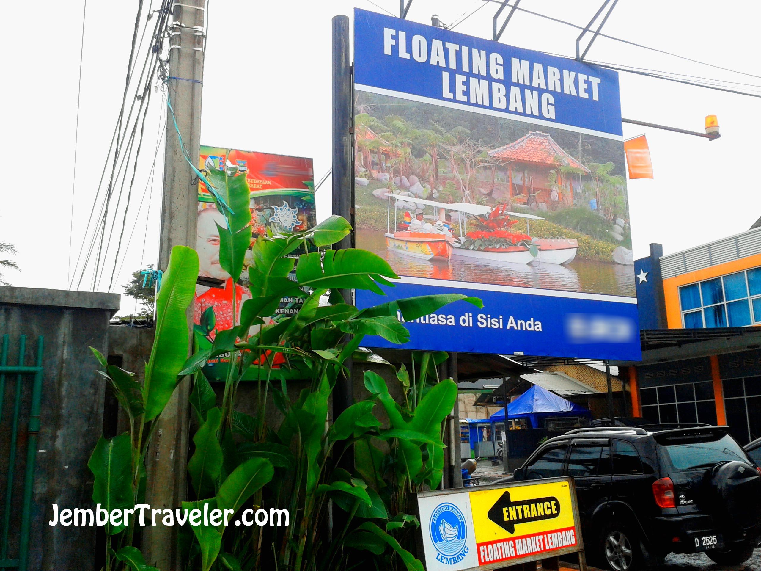 Floating Market Lembang Logo Tiket Masuk Michelle Francleemichelle Franclee Berteduh Di Pasar Terapung Bandung Jember Traveler