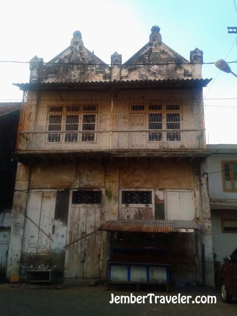 Bangunan kuno di Kampung Arab
