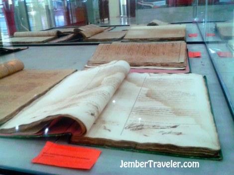 Catatan administrasi jaman Hindia Belanda