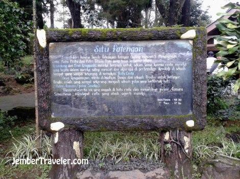 Cerita rakyat di Situ Patengan