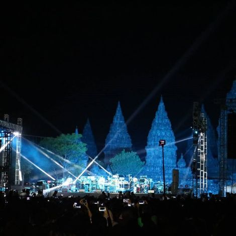 The Stage. Sumber : IG @infosenijogja