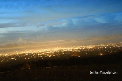 Lampu-lampu di Yogyakarta