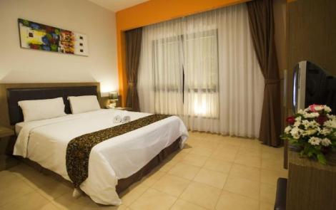Kamar di Hotel Jentra Dagen. Sumber : traveloka.com