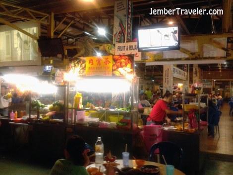 Outlet di dalam food court